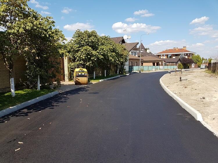 Асфальтированная улица